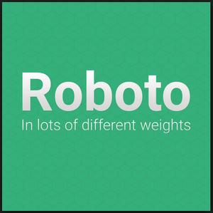 Font Roboto - Cara Pemasangan dan Penggunaan di Blog