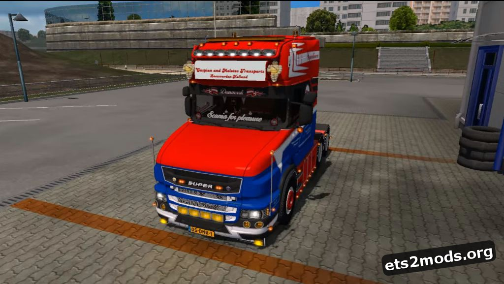 Truck - Scania T620 C&M Transports V 2