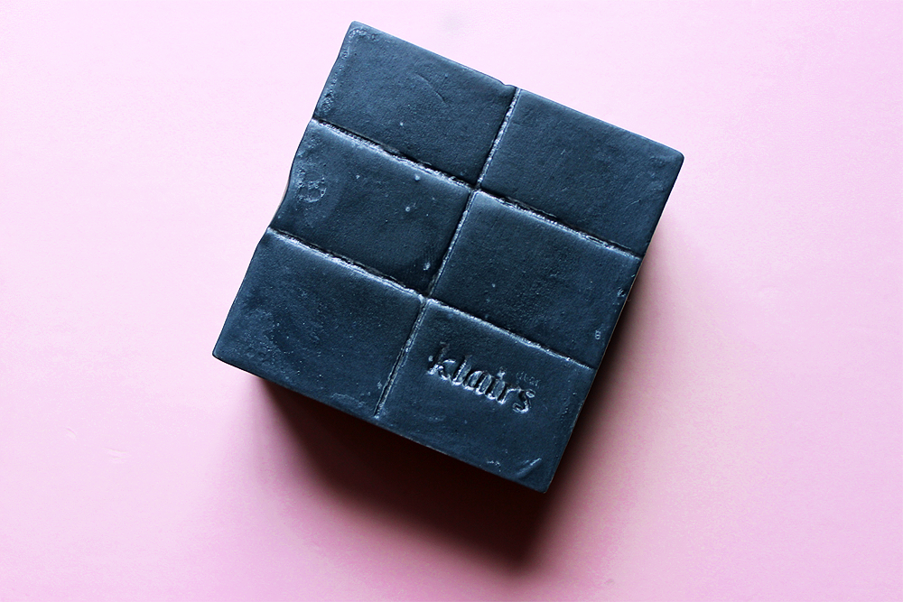 dear Klairs Gentle Black Sugar Charcoal Soap review