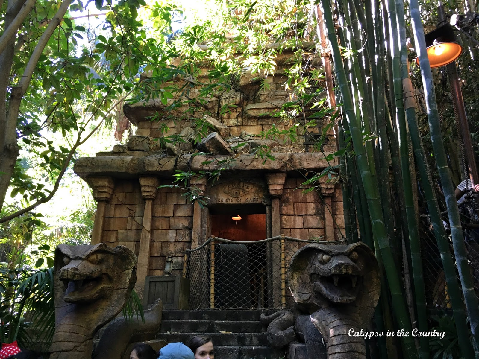 Disneyland Indiana Jones Ride