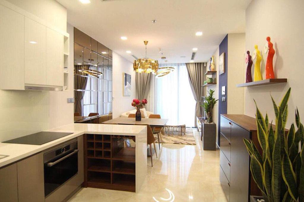Vinhome Ba Son cho thuê căn hộ 51m2 nội thất cực đẹp