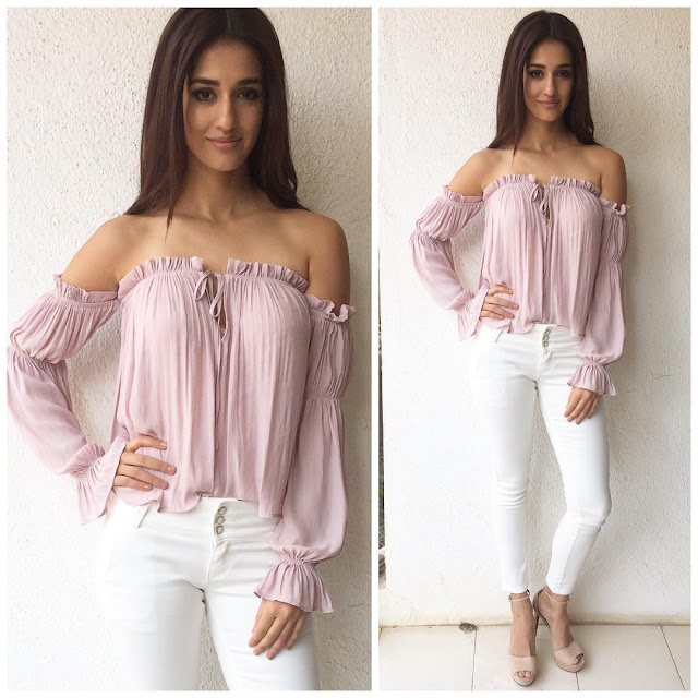 Disha Patani Looking Hot in Casual Outfit