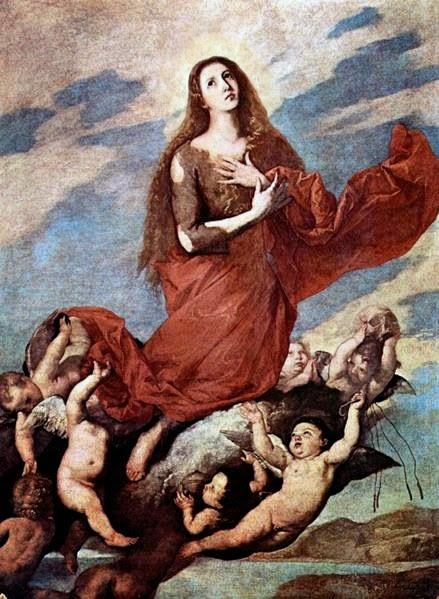 Marie-Madeleine que Jésus a délivrée de 7 démons