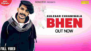 Bhen Gulzaar Chhaniwala MP3 Song Download 320kbps   New Haryanvi Songs Haryanavi 2020   Lyricstuff.Com