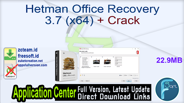 Hetman Office Recovery 3.7 (x64) + Crack_ ZcTeam.id