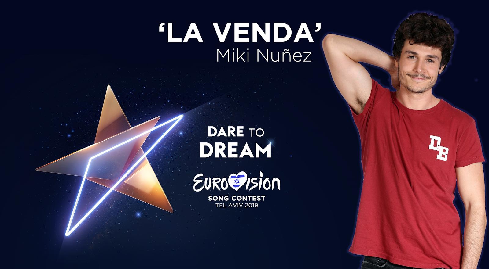 MIKI NÚÑEZ REPRESENTARÁ A ESPAÑA EN EUROVISION 2019 CON LA VENDA