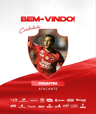 De volta! Vila Nova contrata atacante Frontini para o final do Goianão 2020