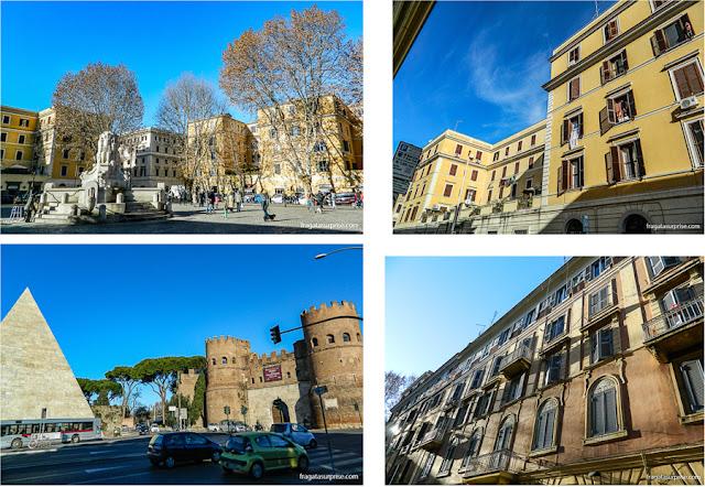 Bairro do Testaccio, Roma, Itália