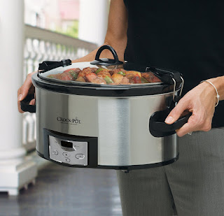 crock pot, slow cooker, cookware