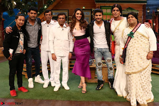 The Kapil Sharma Show with Abbas Mustan and Machine cast   TV Show Pics March 2017 01.JPG