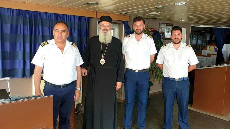 Συγχαρητήριο Μητροπολίτη Αλεξανδρούπολης κ. Ανθίμου για το Ε/Γ-Ο/Γ ΑΔΑΜΑΝΤΙΟΣ ΚΟΡΑΗΣ της Zante Ferries