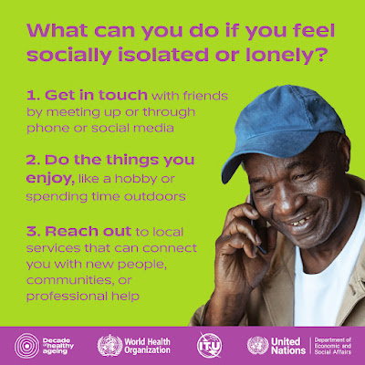 What to do if you feel lonely - contact people by phone, internet, go for a walk