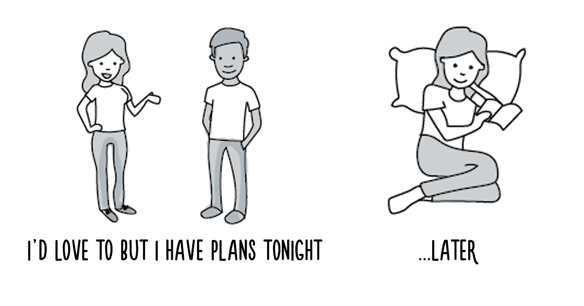 What's Inside An Introvert's Head (6 Pics)