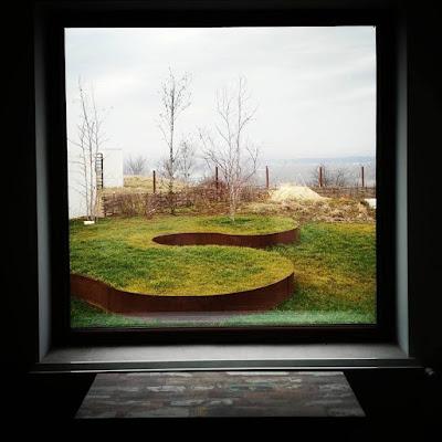 Proiect gradina arhitect peisagist alexandru gheorghe craiova . Gradina corten, peluza, new perennials movement in Romania.
