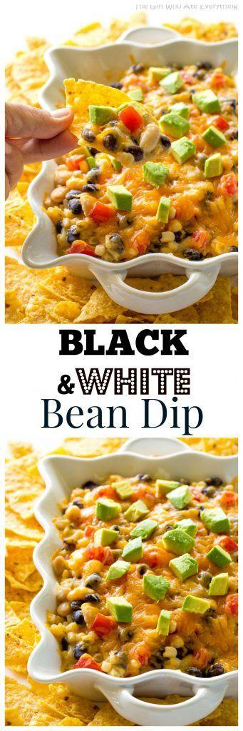 Black and White Bean Dip