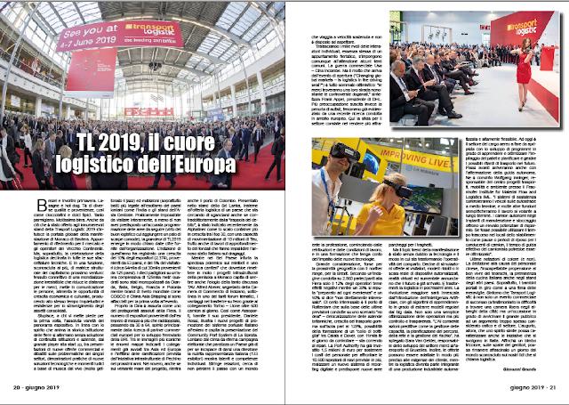 GIUGNO 2019 PAG. 20 - TL 2019, il cuore logistico dell'Europa