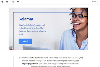 Trik Paling Ampuh Daftar Google AdSense Agar Diterima
