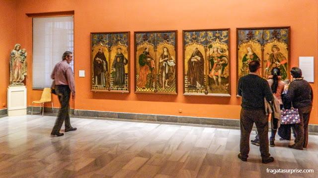 Imagens de Santos do do Convento de San Benito de Calatrava, no Museu de Belas Artes de Sevilha