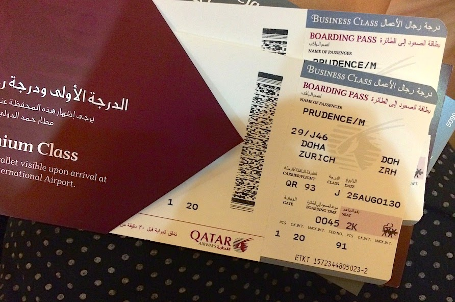 Life Is An Absurd Journey Fly In Luxury Qatar Airways Business