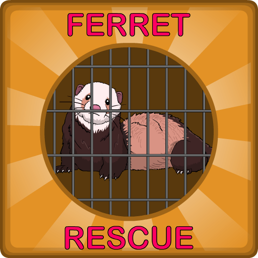 Ferret Rescue From Cage