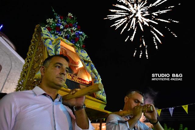 Η Νέα Τίρυνθα γιορτάζει την Τιμία Ζώνη Της Παναγίας (βίντεο)