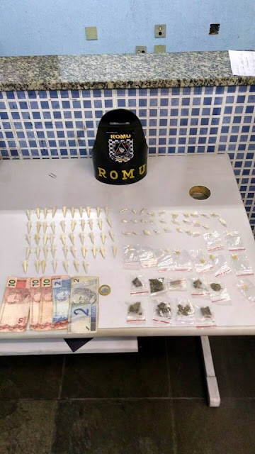 ROMU Jandira - Preso por tráfico de drogas