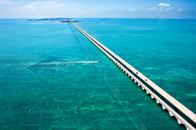 Puente de las siete millas en Key West