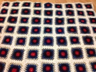 granny squares, crochet, crochet throw