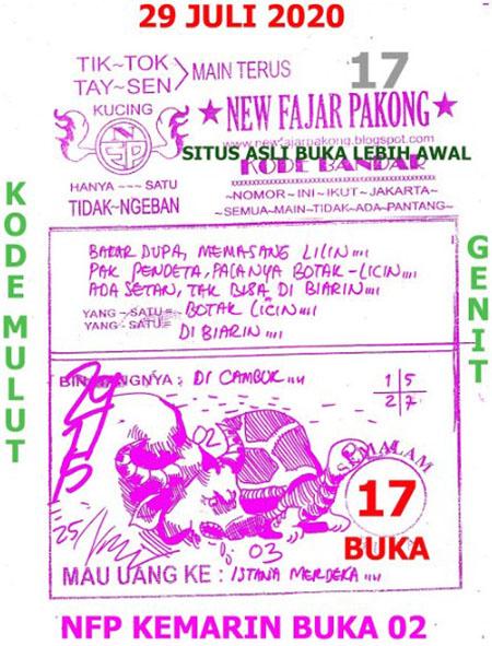 New Fajar Pakong Rabu