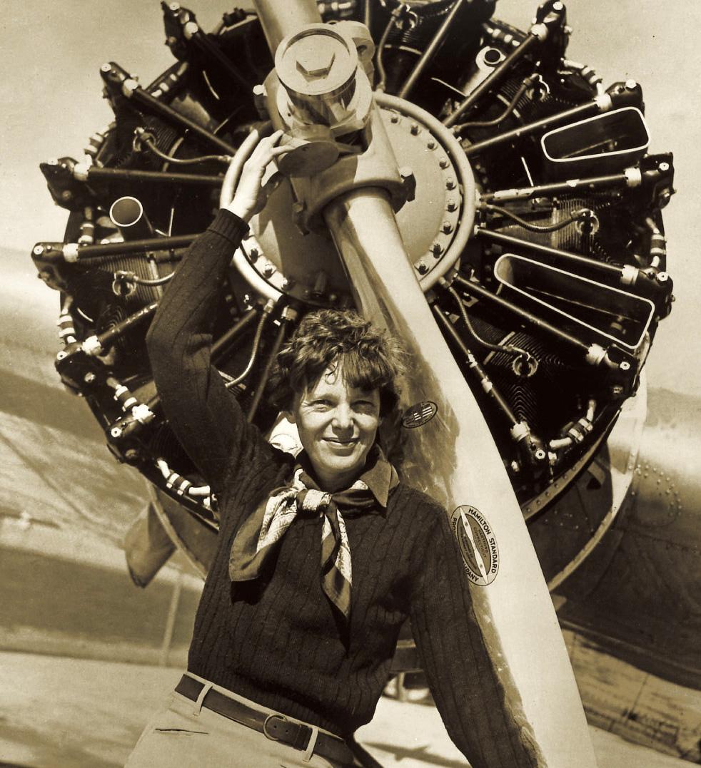 Aislado en este planeta: Amelia Earhart