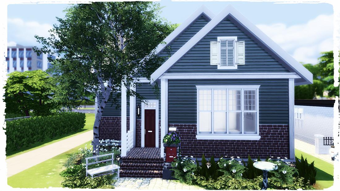Small Suburban House Sims 4 Houses