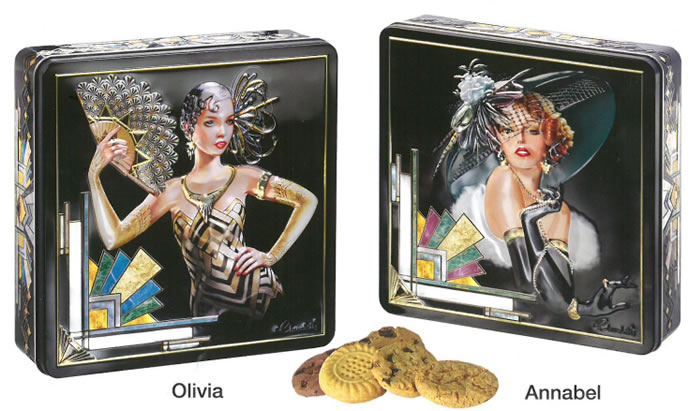 Churchill's Confectionery - Biscuits in Beautiful Tins