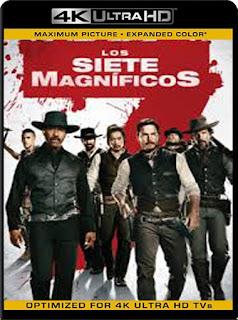 Los Siete Magníficos (2016)4K 2160p UHD [HDR] Latino [GoogleDrive]