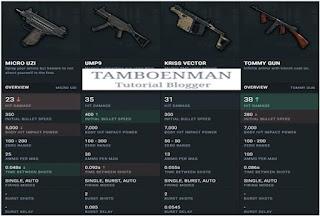 SMG (Sub Machine Gun)