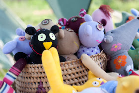 Instead of throwing unsafe objects, throw stuffed animals: Anger Management for Kids: The Caregiver's Responsibility