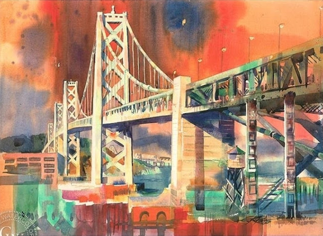 Kenneth Potter [1926-2011] | American Watercolor Artist