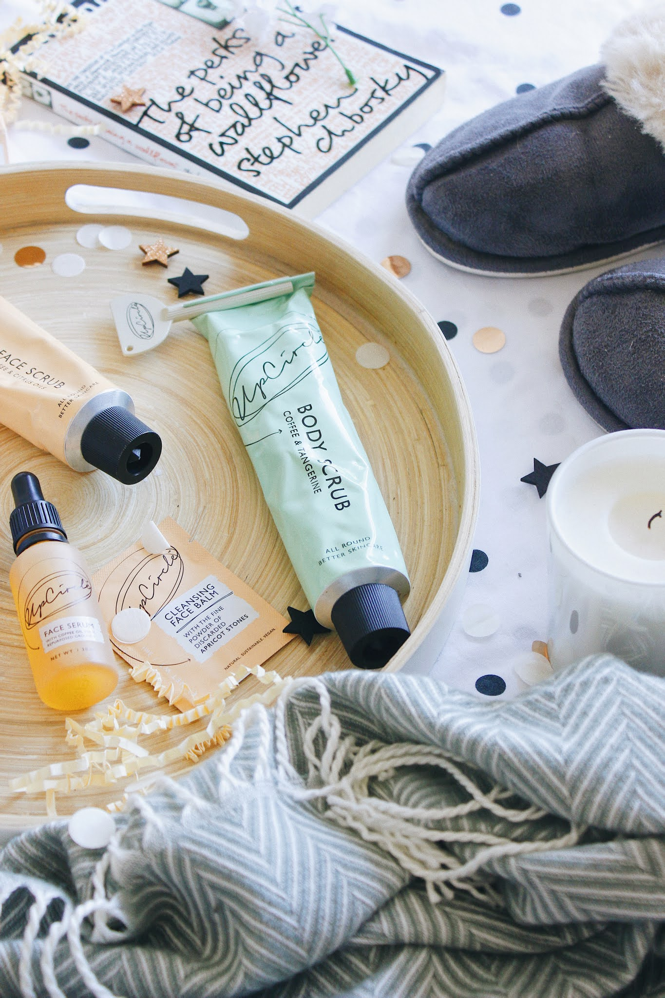 my evening routine with upcircle - sarahlaublogs