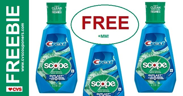 FREE Scope CVS Couponers Deal 8-18 8-24