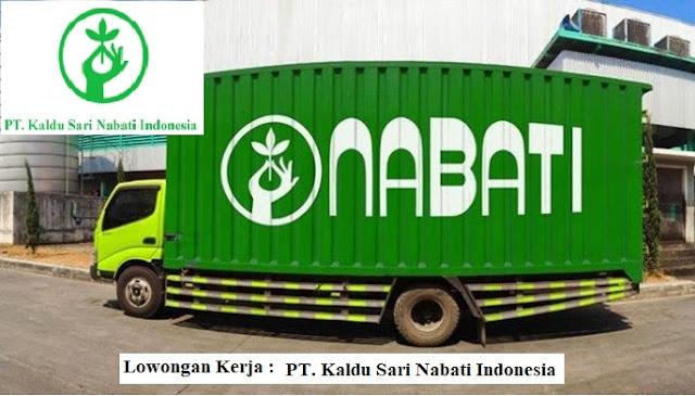 Informasi Terbaru Lowongan Kerja PT Kaldu Sari Nabati Indonesia (NABATI Group)