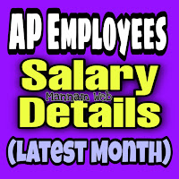 AP Employees Salary Details / Pay Particulars for Latest Month