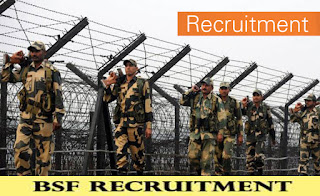 Border Security Forces - BSF Recruitment 2019
