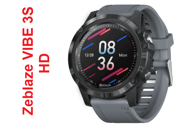 Zeblaze VIBE 3S HD SmartWatch: Specs + Price + Features