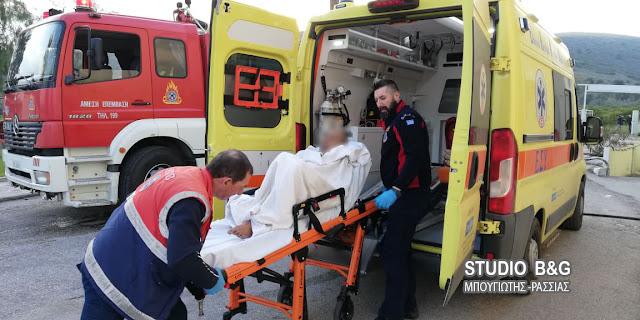 Αργολίδα: Πυρκαγιά στο Γηροκομείο του Άργους με τραυματία