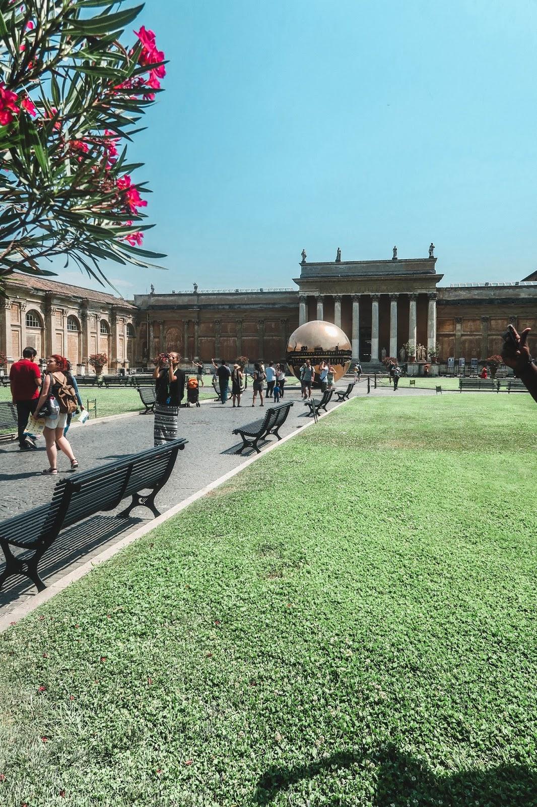 Vatican City in the Summer