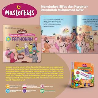 Meneladani Sifat dan Karakter Rasulullah for Kids