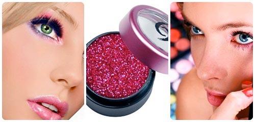 maquillaje de verano collage