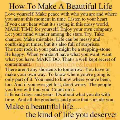 Its A Beautiful Life Quotes. QuotesGram