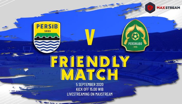 Friendly Match Persib Bandung vs Tira Persikabo Disiarkan Langsung