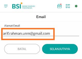 Resi email BSI