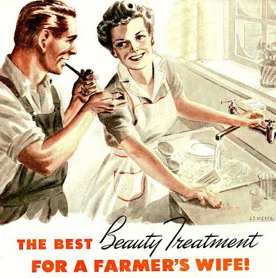 The best beauty treatment for a farmer's wife